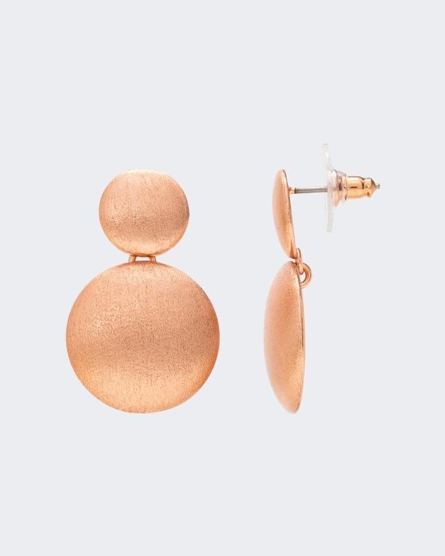 Ohrstecker im Halbkugel-Design   Schmuck > Ohrschmuck & Ohrringe > Ohrstecker   Gelb   Claris Vienna Jewelry Art