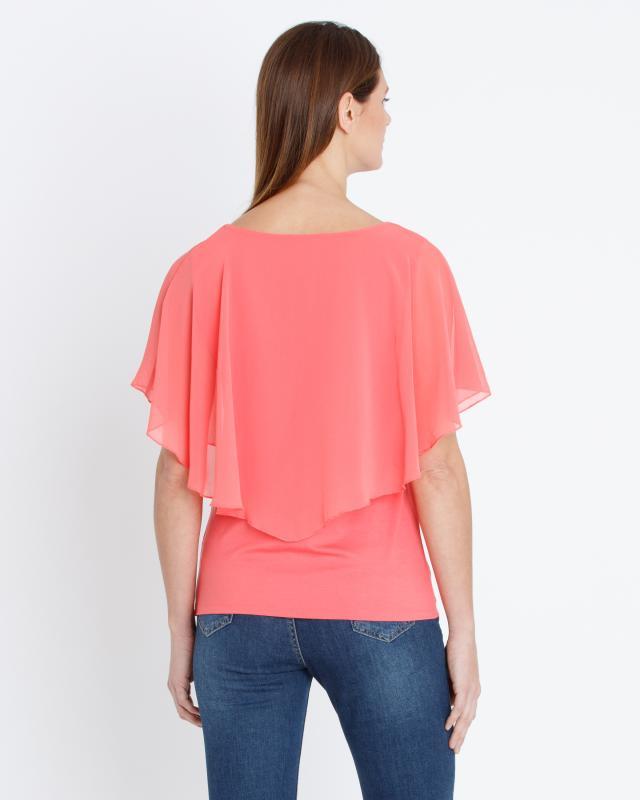 shirt-mit-chiffon-besatz, 72.95 EUR @ hse24