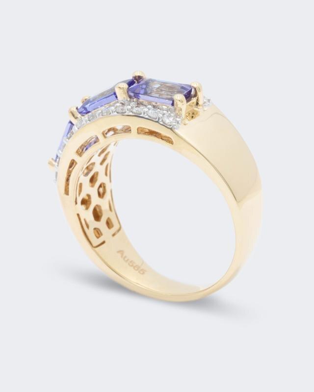 ring-mit-tansanit-und-diamant