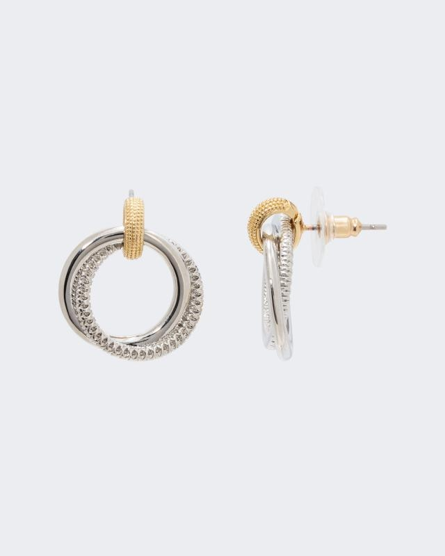 Ohrstecker im Ring-Design   Schmuck > Ohrschmuck & Ohrringe > Ohrstecker   Messing   Claris Vienna Jewelry Art
