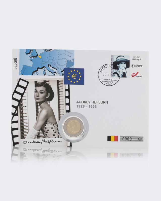 2€-Numisbrief Audrey Hepburn