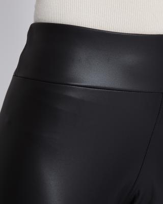 Thermo Fake Leder Leggings