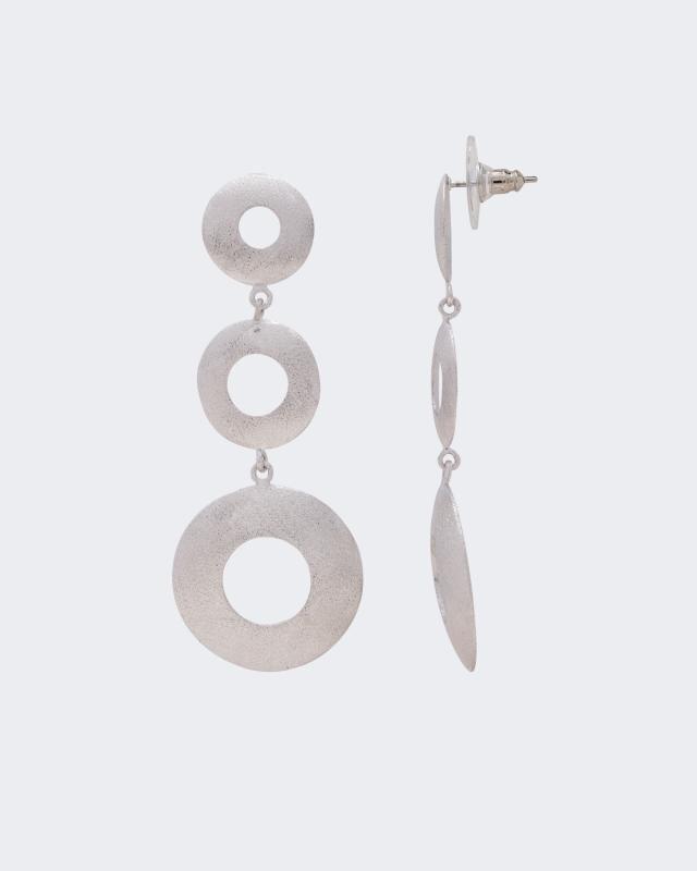 Ohrstecker, gebürstet   Schmuck > Ohrschmuck & Ohrringe > Ohrstecker   Messing   Claris Vienna Jewelry Art