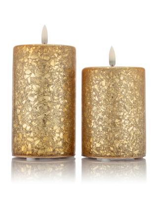 Hse24 Led Kerzen.Kabellose Led Weihnachtskerzen Mit Echtflamme 20 St Hier