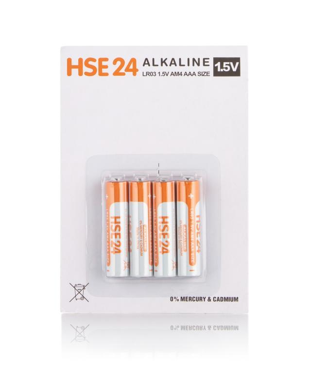 Batterienset, 4tlg. AAA