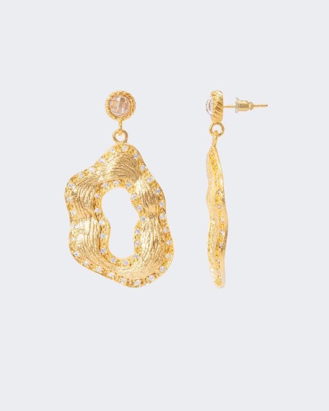 Ohrstecker mit Zirkonia | Schmuck > Ohrschmuck & Ohrringe > Ohrstecker | Glanz | Claris Vienna Jewelry Art