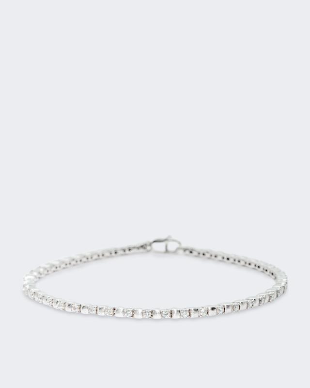 Angesehen: Diamantaire Platin-Brillantarmband 1, 0/1 Deal