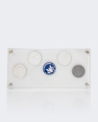Silbermünze USA Moonlanding 2019