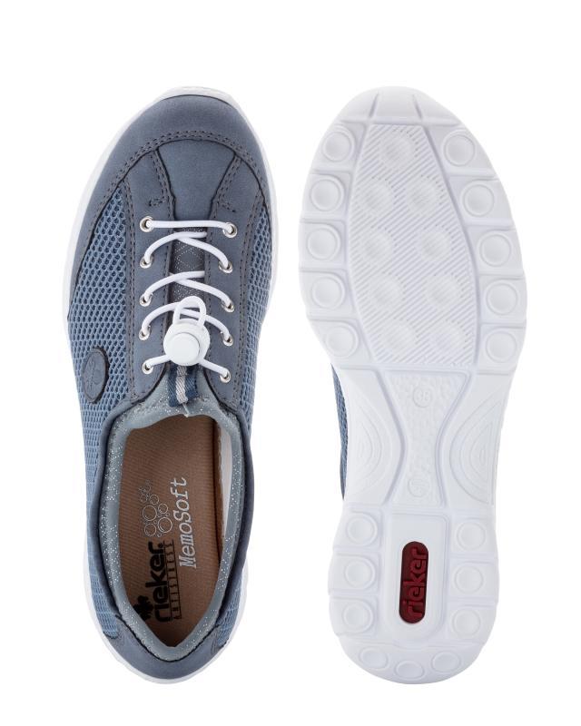 Sneaker in Velours und Mesh Optik bT5SM