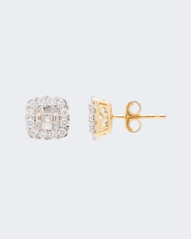 Diamant-Ohrstecker mit 0,75 Karat