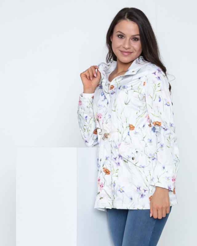 Angebot: Lola Paltinger Longjacke Blumendruck Aktion