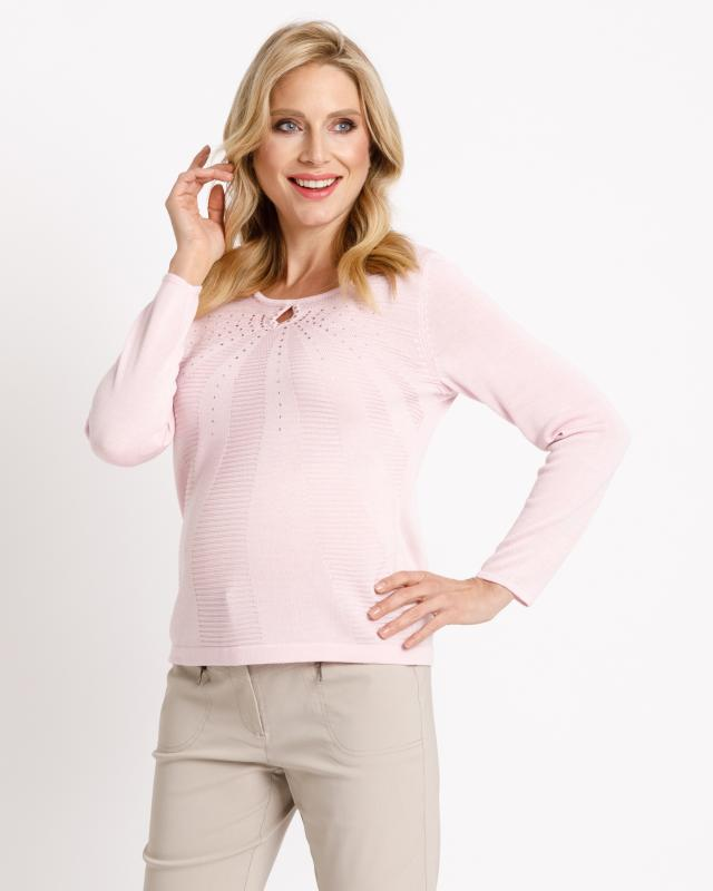 Image of Helena Vera Pullover mit Keyhole