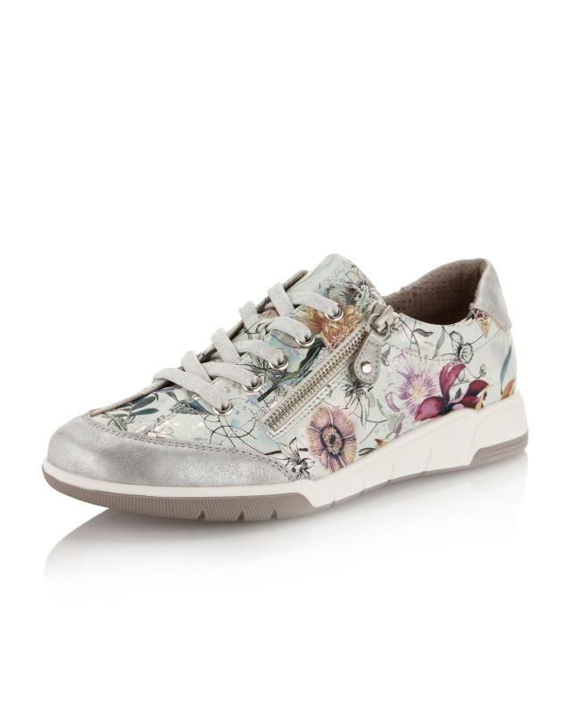 Sneaker Vintage Blumendruck