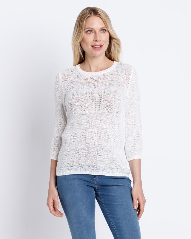 Image of Helena Vera Pullover mit Glanzgarn