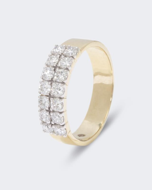Diamond Collection Brillantring 0, 75 Karat