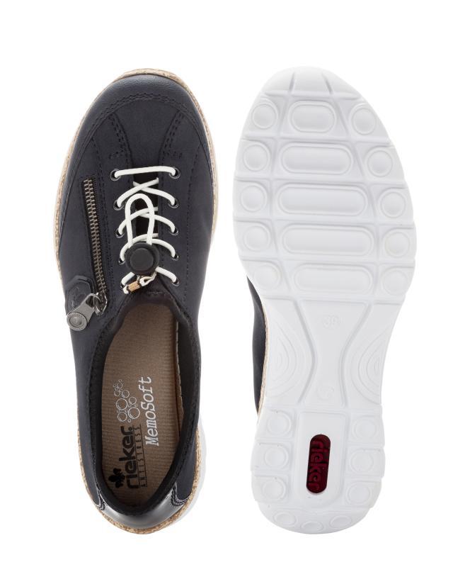 Rieker Sneaker mit Deko Zipper