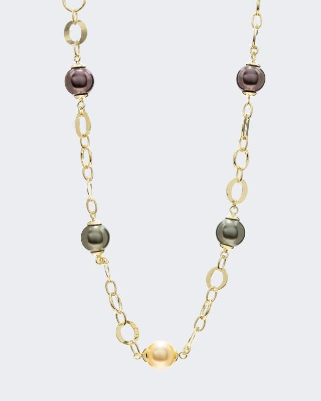 Collier mit MK-Perlen 10mm