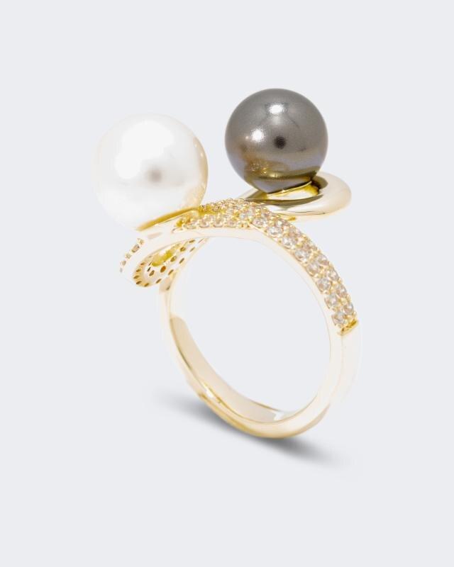 Pfeffinger Ring mit Muschelkernperlen online bestellen