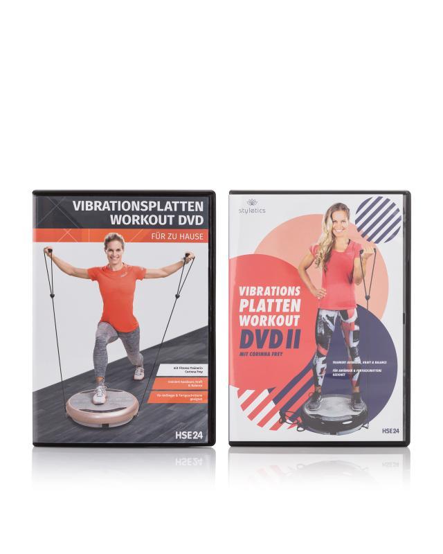 Vibrationsplatten Workout DVD Set