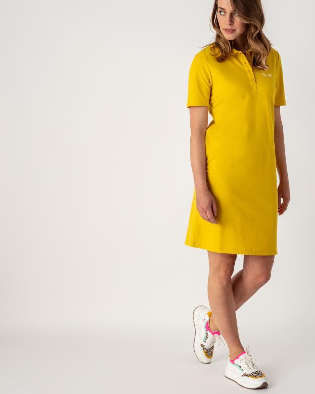 Polo Piqué Kleid mit Knopfleiste