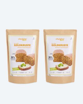 Backmischung Goldkruste 2x 600 g
