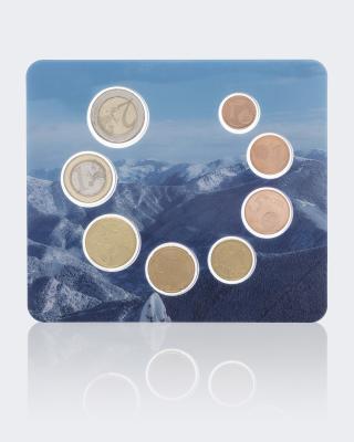 Kursmünzensatz Andorra 2014