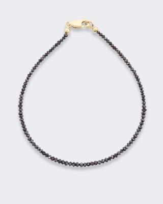 Armband mit schwarzen Diamanten ca. 5,5 ct