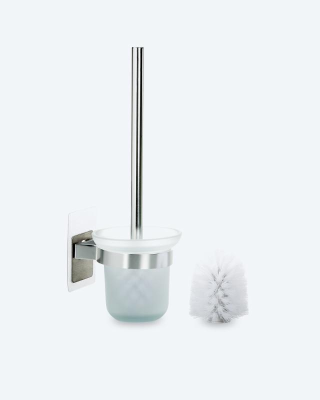 Magische Haken Toilettenbürstenhalter mit WC-Bürsten
