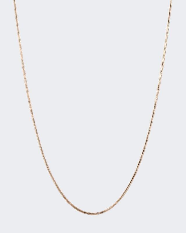 Schlangenkette aus Gold
