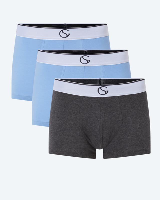 Pants in langer Form, 3er Pack