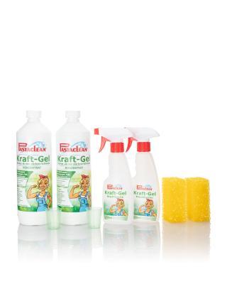 Kraft-Gel, 2x 1 Liter & Zubehör