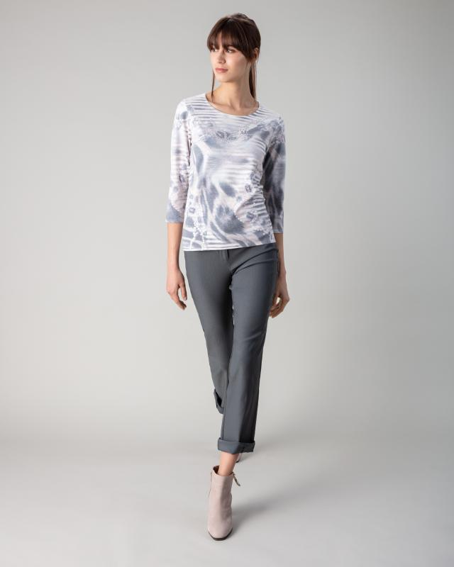 Image of Helena Vera Pullover mit Kettendruck