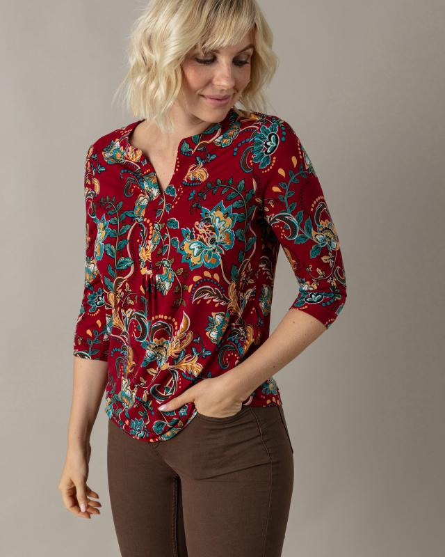 Couture Line Longshirt mit Blumendruck | Bekleidung > Shirts > Longshirts | Couture Line