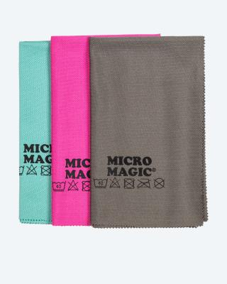 Micro Magic Glas-Poliertücher, 3tlg.