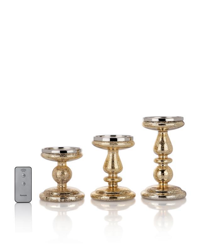 Kerzenständer Groß aus Glas Von HSE24 Neu Für Stumpenkerze