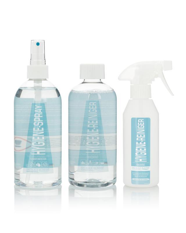 Hygienereiniger & Handdesinfektion, 2x 500 ml