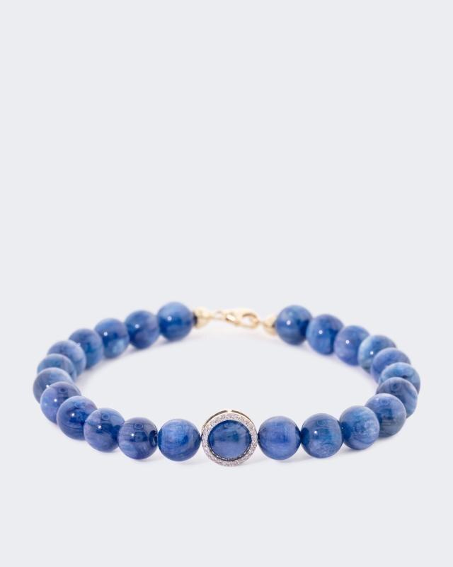 Armband mit Kyanit und Diamant