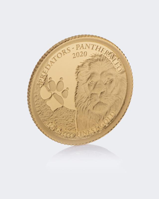 Goldmünze Löwe 2020