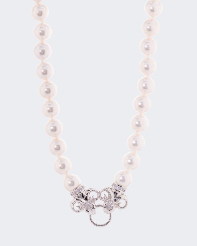 Collier MK-Perlen 12 mm