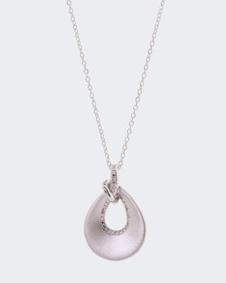 Diamantanhänger 0,015 ct mit Kette