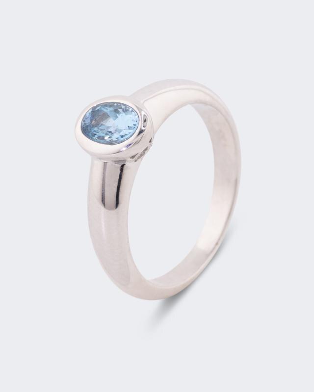 Ring mit Santa Maria Aquamarin