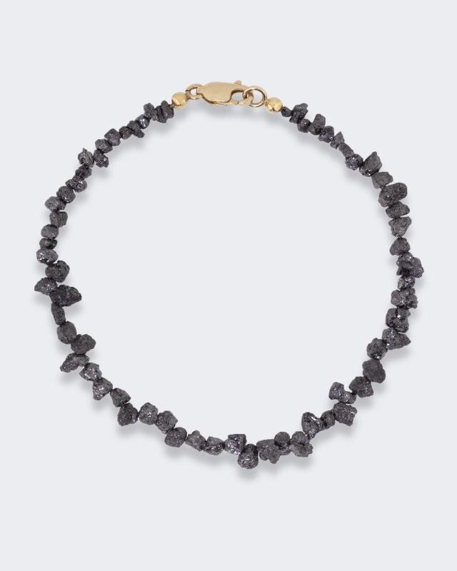Armband mit schwarzen Diamanten