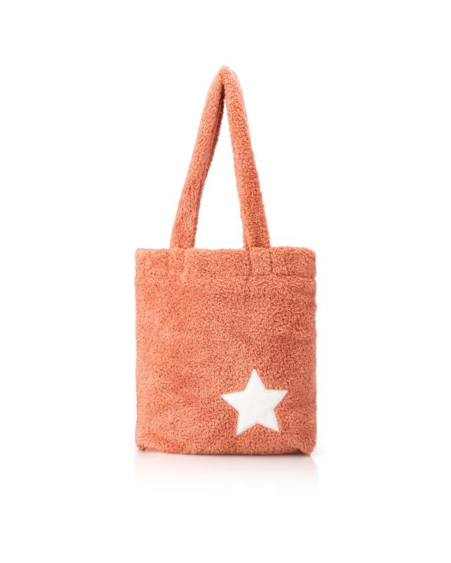 "XL Tasche in Lammfelloptik ""Stella"""