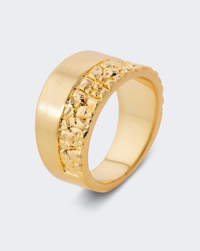 Ring in Kontrast-Optik