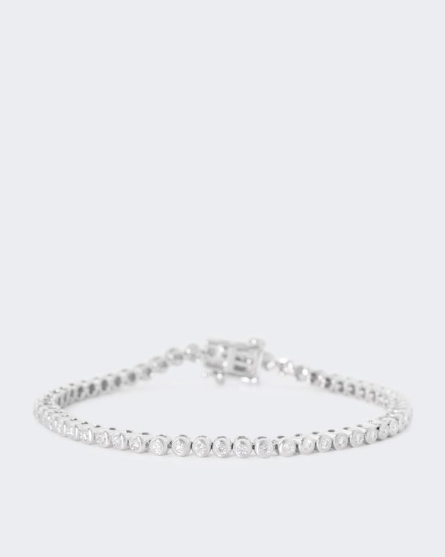 Armband mit Brillanten und 1,00 Karat