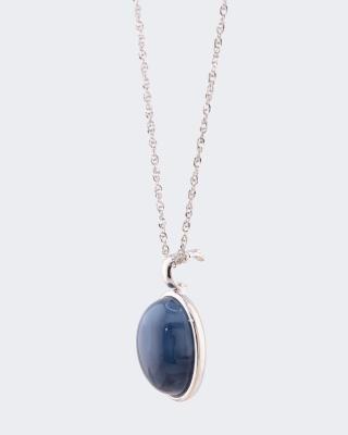 Clipanhänger mit Opal