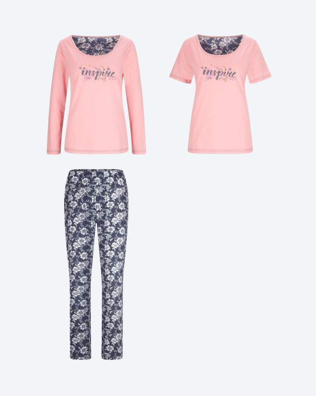 Pyjama & Shirt, 3tlg.