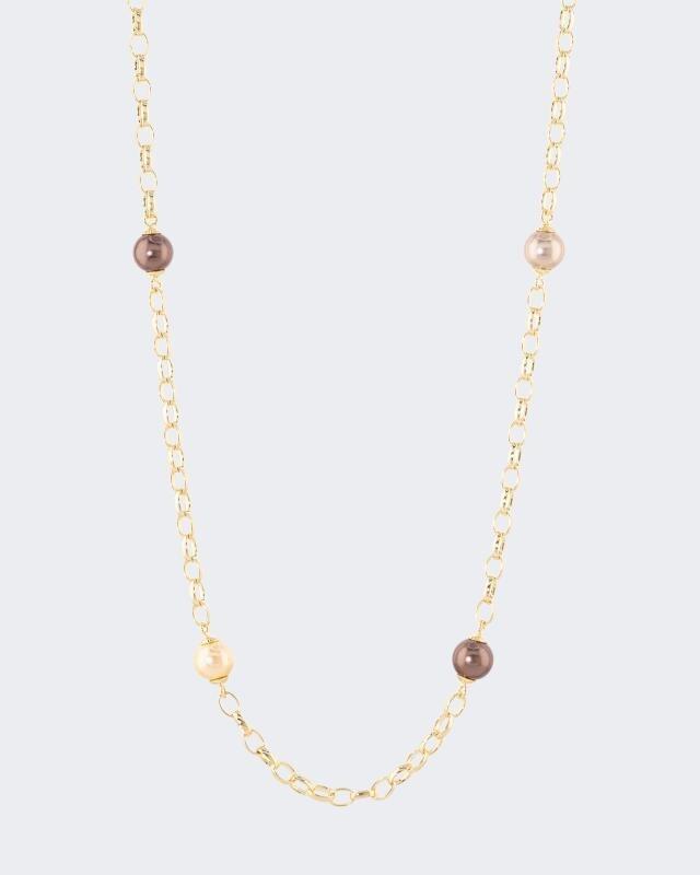 Erbskette mit MK-Perlen 10mm
