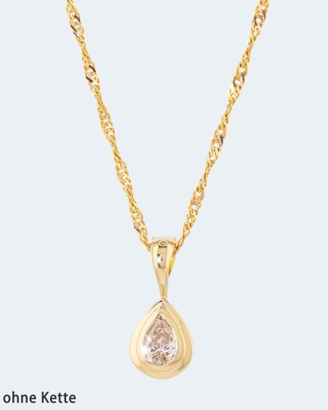 Diamantanhänger mit 0,50 Karat