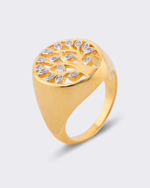 Harry Ivens Diamantring mit 0,054 Karat
